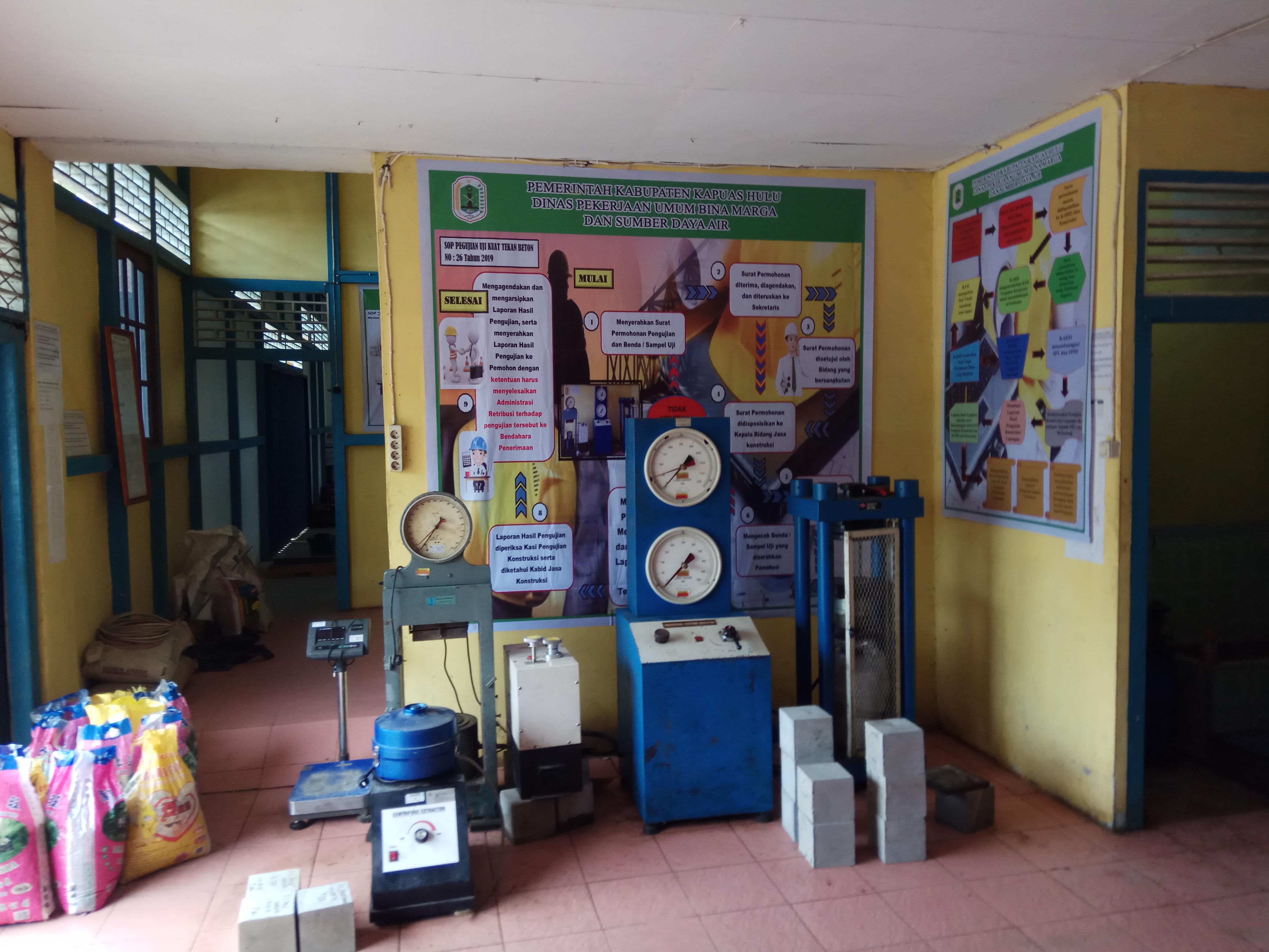 Hasil Pengujian di Lab Dinas PU Bina Marga dan Sumber Daya AirSudah Melebihi Target