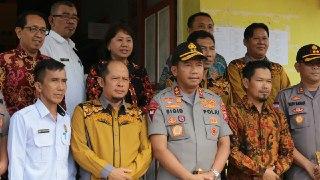 Kapolda Kalbar Kunjungi Sekretariat KPU Kapuas Hulu