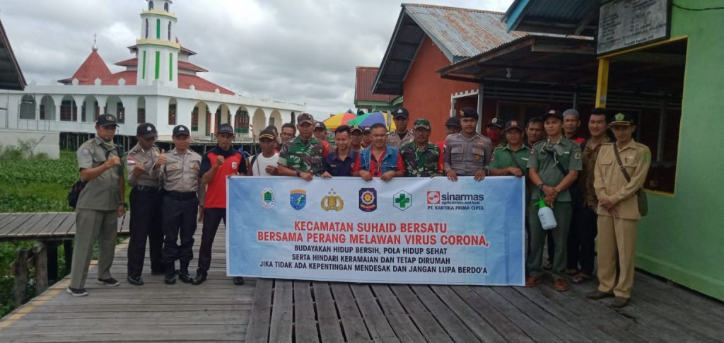 Harapan Camat Terhadap Tim Gugus Tugas Covid-19 Kecamatan Suhaid