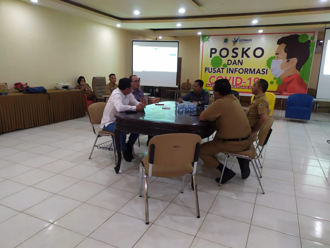 Wakil Ketua DPRD Kapuas Hulu dan Anggota Kunjungi Posko Covid19 di Dinkes