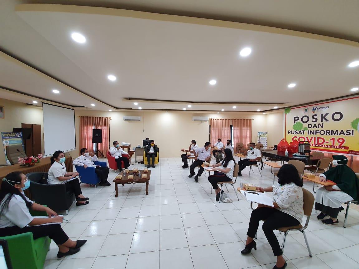 Dinkes Kapuas Hulu Terima Kunjungan Dari Dinkes Kabupaten Landak