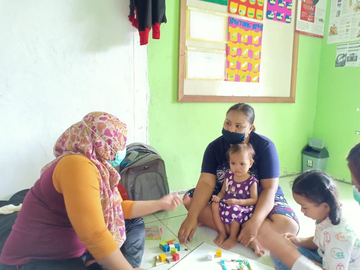 Pastikan Tumbuh Kembang Anak Normal, Petugas Kesehatan Puskesmas Empanang Laksanakan SDIDTK