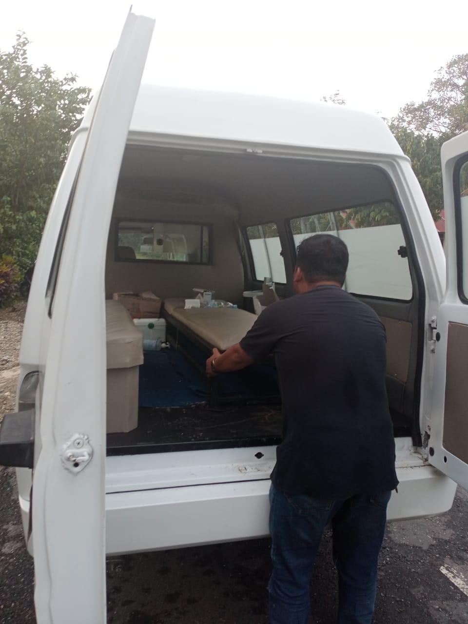 Kabid Kesmas Cek Kesiapan Pelayanan Kesehatan di Daerah Terdampak Banjir