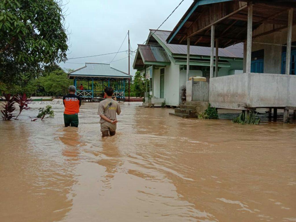 Tiga Kecamatan di Kapuas Hulu Kembali Dilanda Banjir