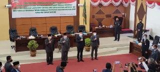 Dewan Umumkan Akhir Masa Jabatan AM Nasir dan Anton Pamero