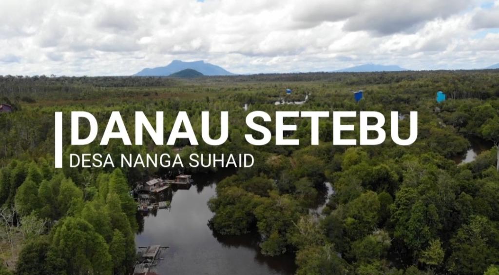 Eksplore Danau Setebu Berikut Harapan Camat Suhaid dan BPD