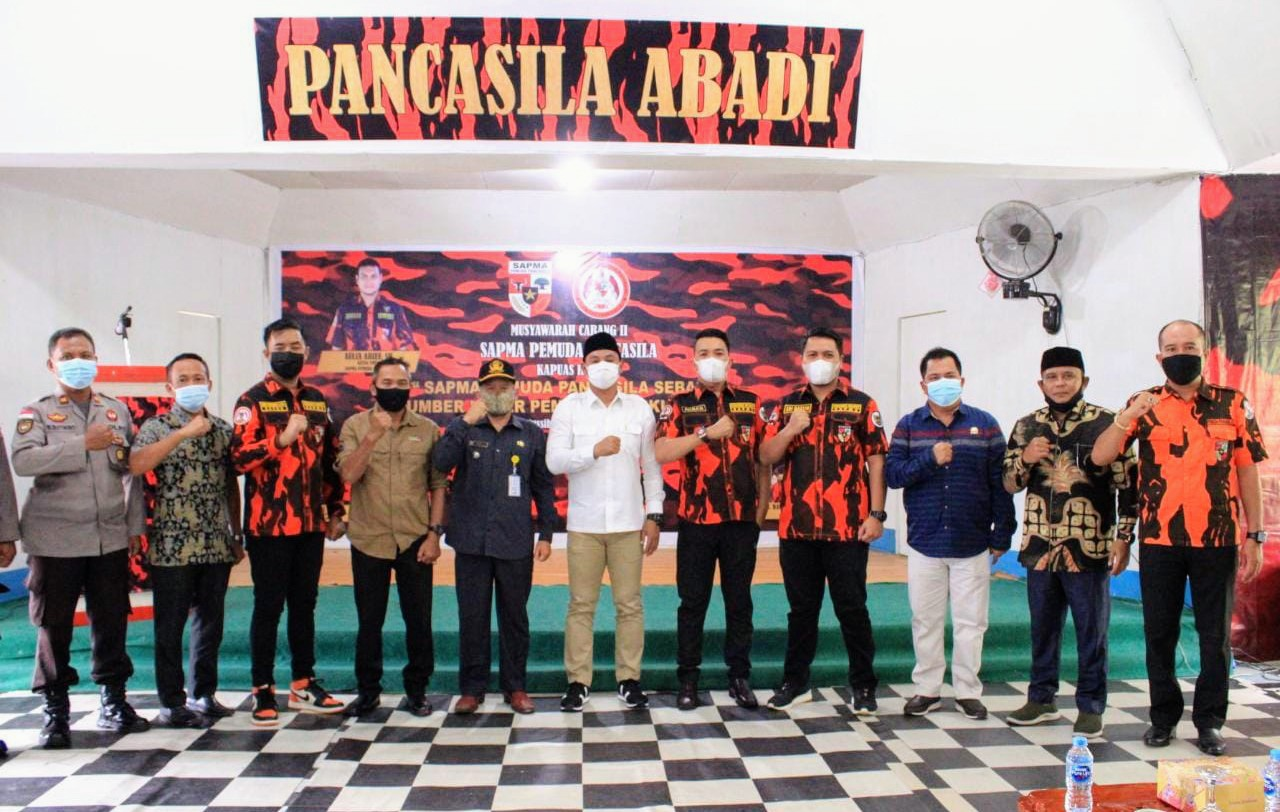Wakil Ketua DPRD Kapuas Hulu Beserta Dua Anggota Hadiri Muscab II Sapma-PP