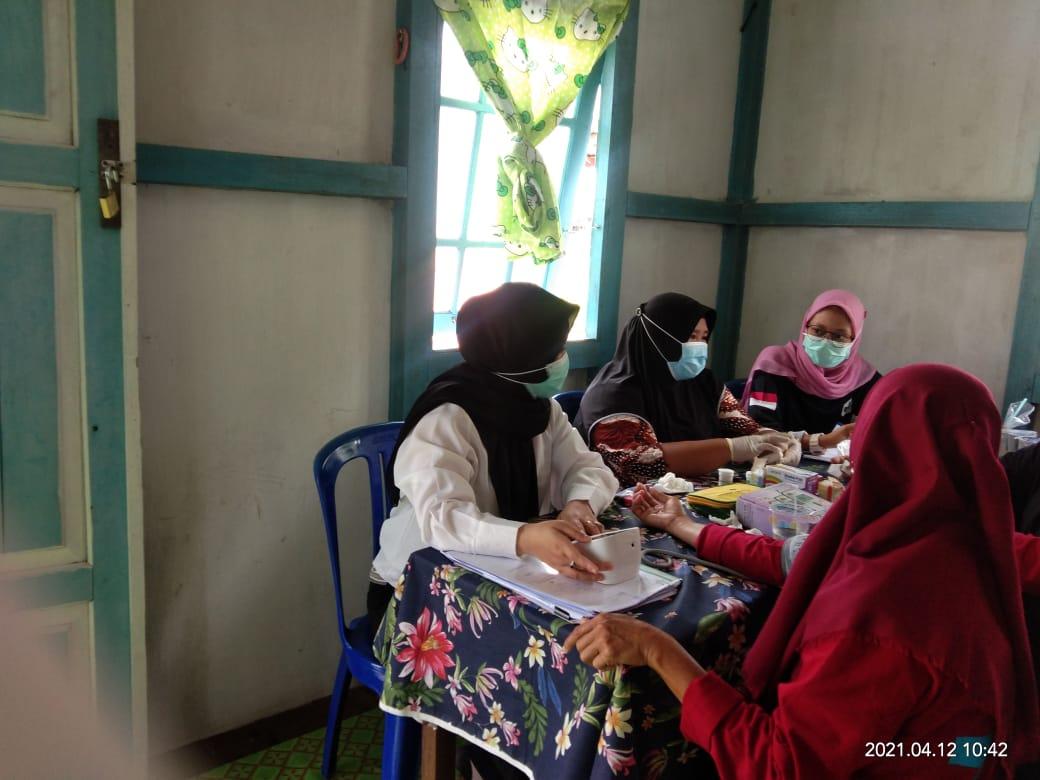 Puskesmas Semitau Maksimalkan Capaian Pelayanan Kesehatan Pada Posbindu
