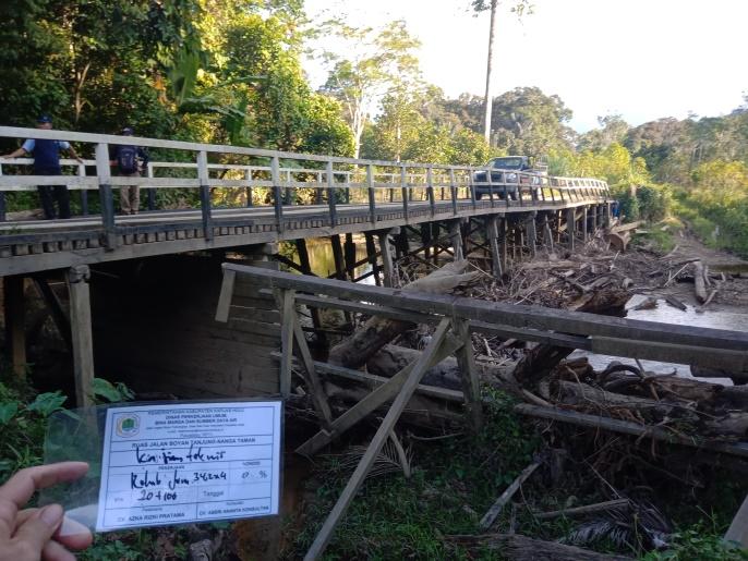Kajian Teknis Lapangan Preservasi Jalan Ruas Jalan Tekalong-Tanjung  Ta. 2021