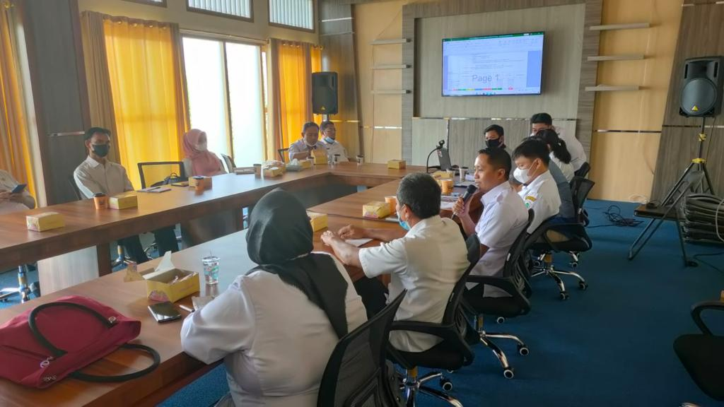 Kasi Fasilitas dan Alkes Hadiri Rapat Input Data Hasil Survey Lapangan