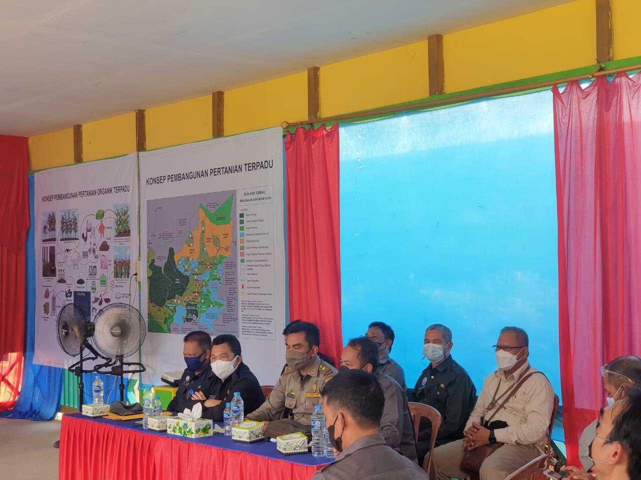 Plt Kadinkes Hadiri Kegiatan Kunjungan Kerja Bupati ke Kecamatan Hulu Gurung